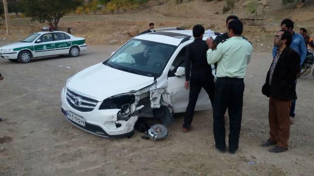 تصادف در شهرستان دنا